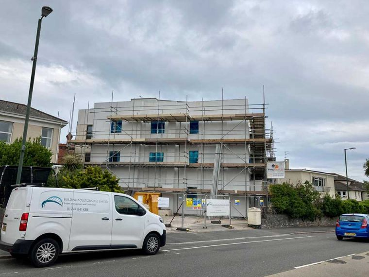 Project Recovery of a Hotel Conversion in Devon